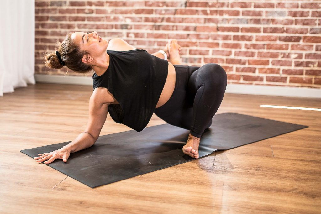 Power and Hot Yoga skin benefits